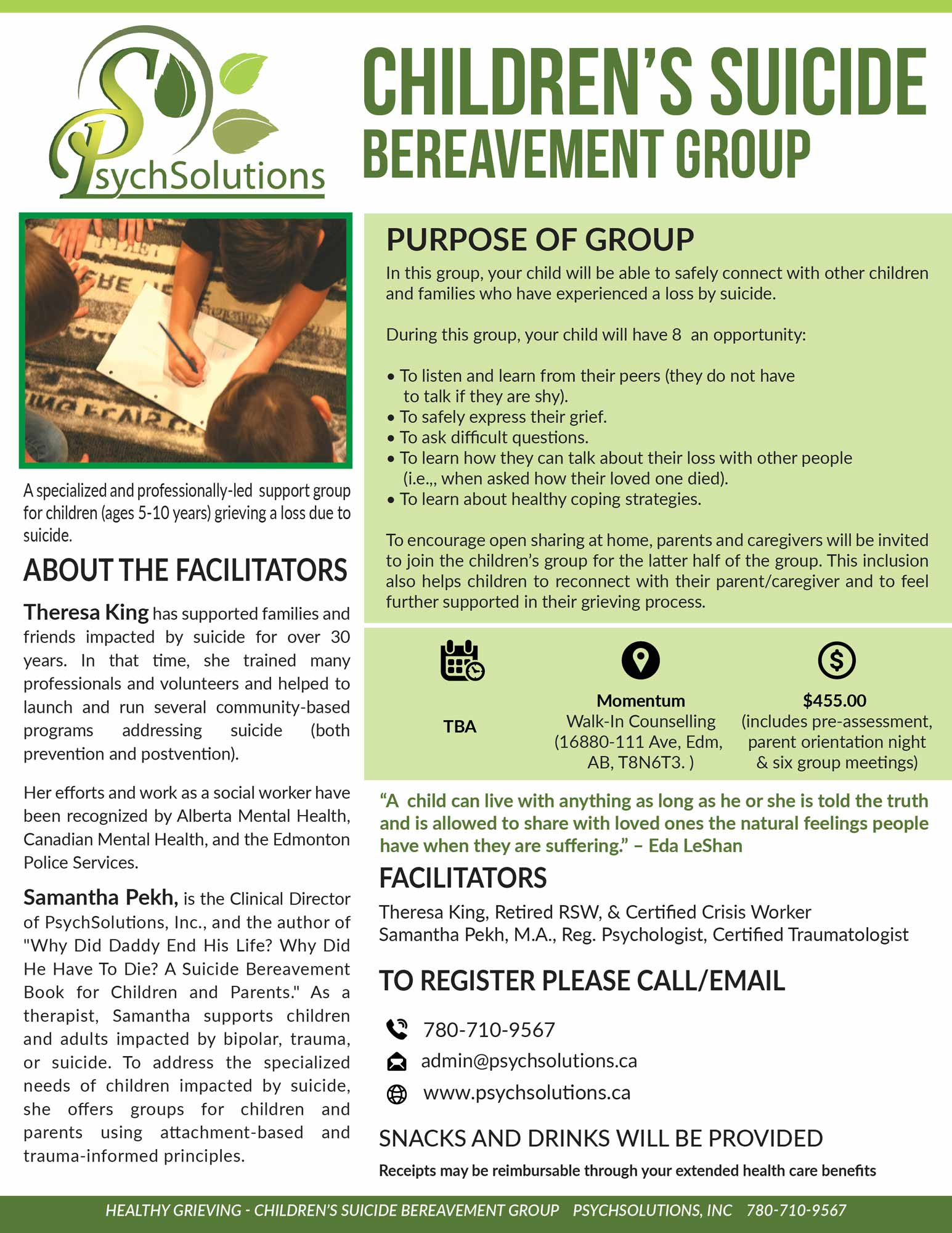 psychsolutions-edmonton-childrens-suicide-bereavement-group
