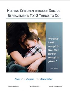 Helping-Children-Through-Suicide-Bereavement-guide-samantha-pekh-edmonton-psychsolutions
